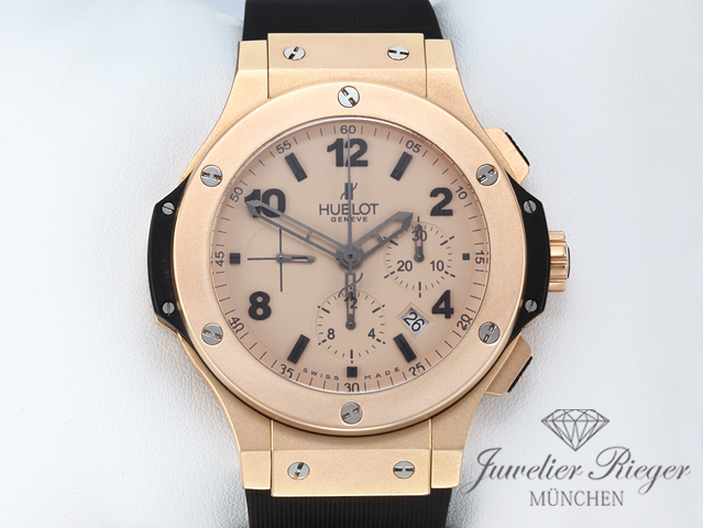 Hublot Big Bang 44mm Rosegold 750 Mat Chronograph Automatik 301.PI.500.RX Gold