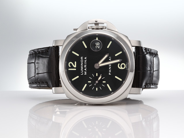 PANERAI LUMINOR MARINA 40 MM PAM00048 STAHL AUTOMATIK