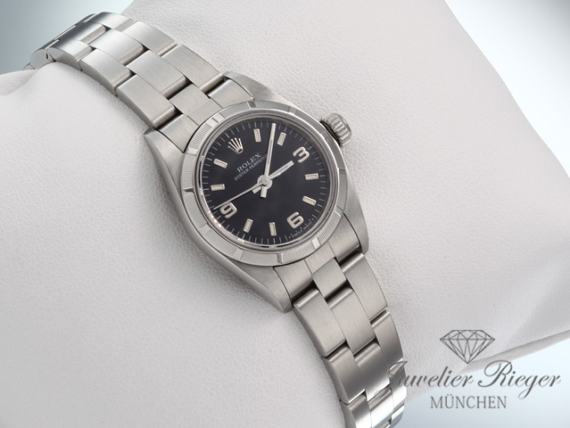 ROLEX LADY OYSTER PERPETUAL 26 mm EDELSTAHL AUTOMATIK