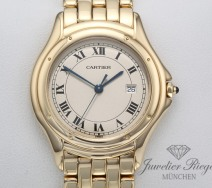 CARTIER PANTHERE COUGAR GELBGOLD 750 GROSSES MODELL HERREN DAMEN MEDIUM GOLD