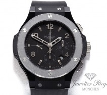 HUBLOT BIG BANG ICE BANG 44 MM KERAMIK TITAN AUTOMATIK 301.CT.130.RX CHRONOGRAPH