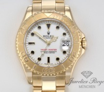 ROLEX YACHTMASTER MEDIUM GELBGOLD 750 AUTOMATIK 35 MM LADY DAMEN HERREN GOLD