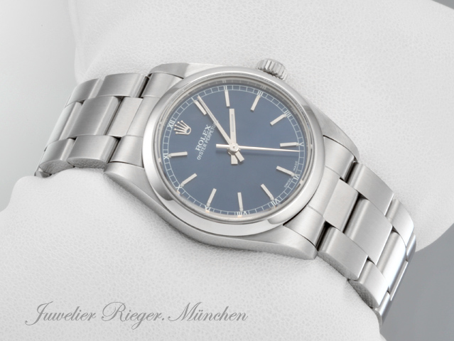 ROLEX OYSTER PERPETUAL MEDIUM 31 MM STAHL AUTOMATIK DATE JUST LADY