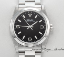 ROLEX OYSTER PERPETUAL MEDIUM 31 MM 2004/05 STAHL AUTOMATIK DATE JUST LADY