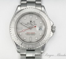 Rolex Yachtmaster 16622 Stahl Platin 40 mm 2004/05 Automatik Yacht Master