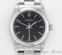 Rolex Oyster Perpetual Medium 31 mm Stahl Automatik 2003/04 date just lady