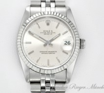 Rolex Datejust Medium Stahl Weissgold 750 Automatik 31 mm Lady Gold