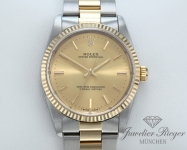 Rolex Oyster Perpetual 34 mm 14233 Stahl Gelbgold 750 Automatik Datejust Gold