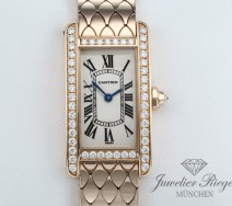 Cartier Lady Tank Americaine Rosegold 750 Diamanten WB710008 Gold LP: 31.500,- €