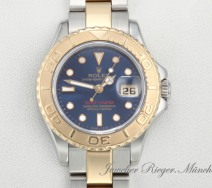 Rolex Lady Yachtmaster Stahl Gelbgold 750 Automatik 29 mm Damen Gold