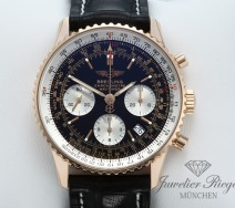 Breitling Navitimer R23322 Rosegold 750 Chronograph Automatik Gold Rotgold