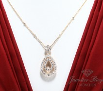 CHOPARD COLLIER ROSEGOLD 750 DIAMANTEN BRILLANTEN 79066 LP: 24.000 € GOLD