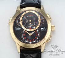 Glashütte Original Pano Matic Chrono Rotgold 750 95-01-15-01-04 Chronograph Gold
