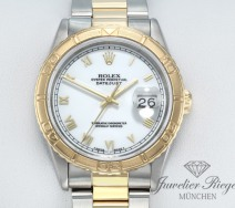 Rolex Datejust 36 Turn O Graph 16263 Stahl Gelbgold 750 Automatik Gold