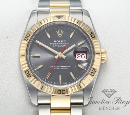 Rolex Datejust Turn o Graph 36 mm 116263 Stahl Gelbgold 750 Automatik Gold