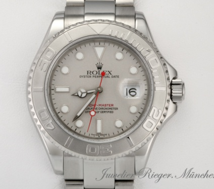 Rolex Yachtmaster 16622 Stahl Platin 40 mm 2005 Automatik Yacht Master
