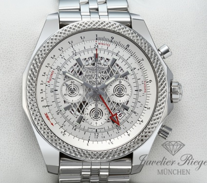 Breitling for Bentley B04 GMT Edelstahl AB0431 Chronograph Automatik Stahl