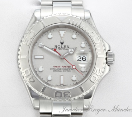Rolex Yachtmaster 16622 Stahl Platin 40 mm 2001/02 Automatik Yacht Master