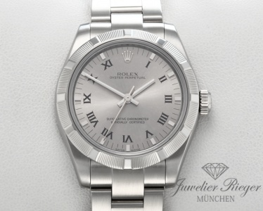 Rolex Oyster Perpetual 31 mm 177210 Medium Stahl Automatik datejust lady