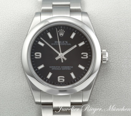 Rolex Oyster Perpetual 31 mm 177200 Medium Stahl Automatik datejust lady