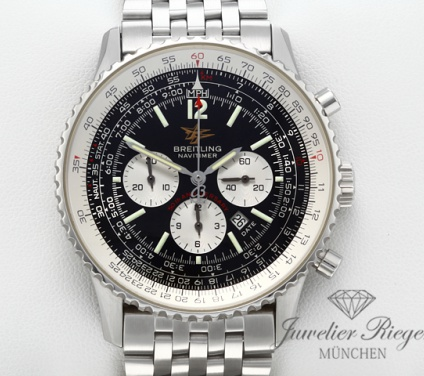 Breitling Navitimer 50th Anniversary A41322 Edelstahl 2002 Chronograph Automatik