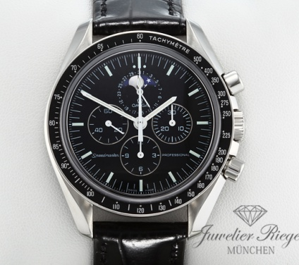 Omega Speedmaster Professional Moonwatch Edelstahl Chronograph 3576.50.00 Stahl