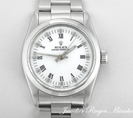 Rolex Oyster Perpetual 31 mm Medium Stahl Automatik datejust lady