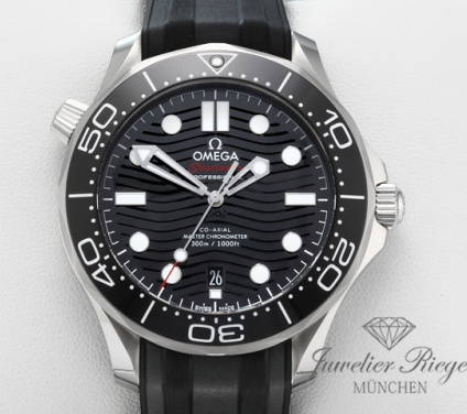 Omega Seamaster Diver 300 M 2020 Edelstahl Co-Axial 210.32.42.20.01.001 Stahl