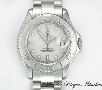 Rolex Yachtmaster 35 mm 168622 Stahl Platin 950 2004/05 Automatik